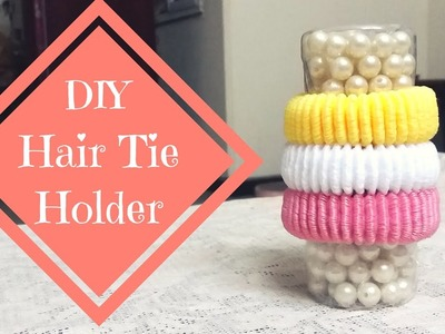 DIY crafts: Hair Tie Holder