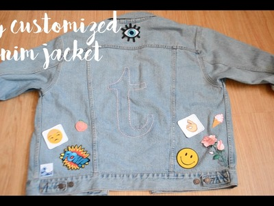 DIY Customized Denim Jacket