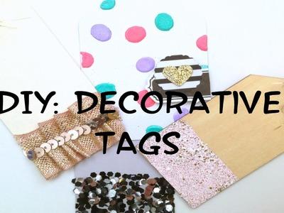 DIY HACK: Decorative Tags Done In 4 Ways!