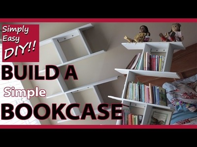 DIY Simple Easy & Elegant Bookcase