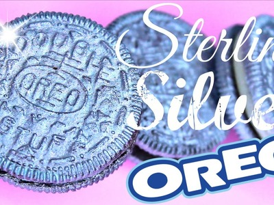 DIY Sterling Silver OREOS! How to Make Metallic Silver Oreo Cookies