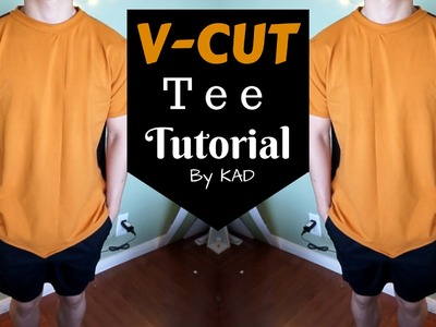 DIY: V-CUT TEE | From Scratch #25