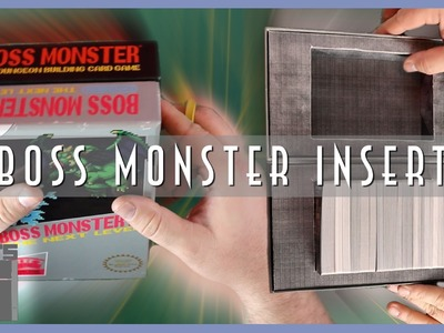 Easy DIY Boss Monster Insert