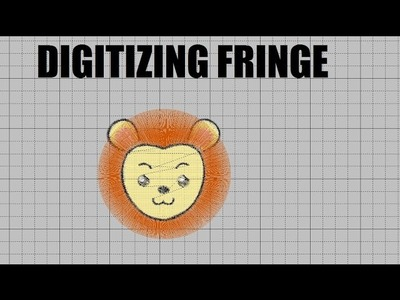 February Floriani Club - How to Digitize Fringe Embroidery