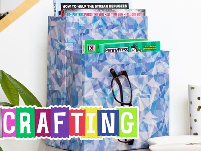 How to Craft a Duct Tape Magazine Holder