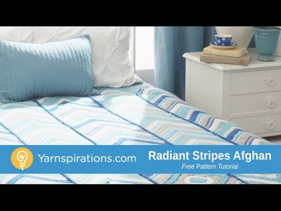 How To Crochet an Afghan: Radiant Stripes