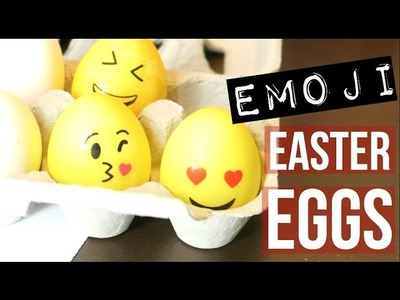 HOW TO: EMOJI EASTER EGG | SCCASTANEDA