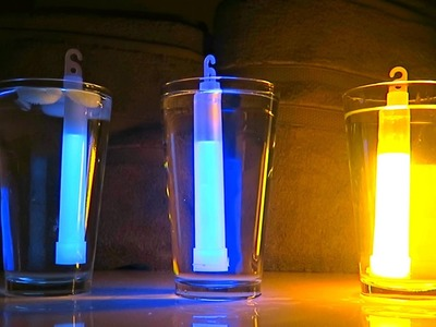 How To Make Glow Stick Brighter - DIY Glow Still Expirement
