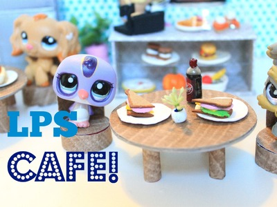 LPS DIY | How to make an LPS cafe