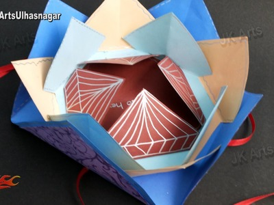 Multi-fold Scrapbook Tutorial | How to make Love Scrapbook | JK Arts 910