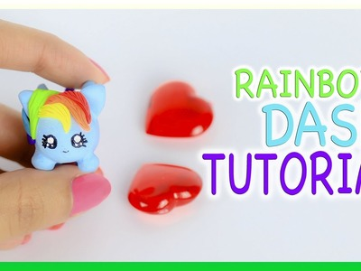 My Little Pony Tsum Tsum Polymer Clay Tutorial DIY