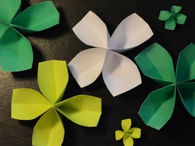 Origami: How to Make a Paper Four-Leaf Clover