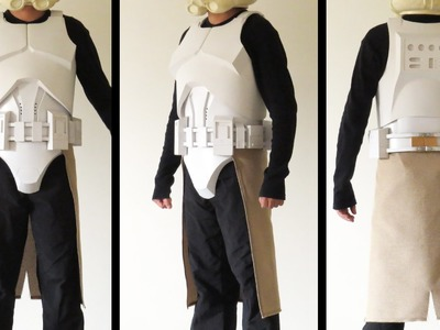 Part 34 - DIY Clone Trooper Armor - Tutorial - Kama