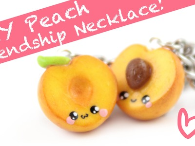 Peach Friendship Necklace -DIY- | Kawaii Friday