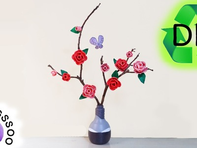 달걀판으로 꽃 만들기 [양쑤] Making Flowers out of a Paper Egg Container [Recycling. Upcycling. DIY]