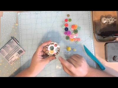 DIY Embellishments  -  Mini Rosettes