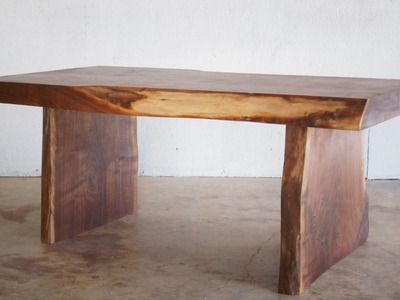 DIY Live Edge Slab Coffee Table | Modern Builds | EP. 24