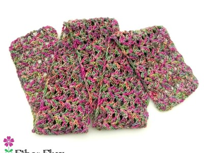 How To Crochet the TulipTree Scarf, Episode 288