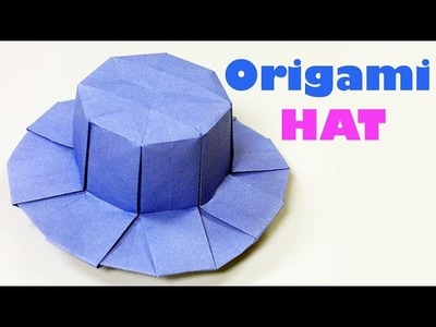 How To Make Hat From Paper  | Origami Hat Art | Easy Crafting Steps