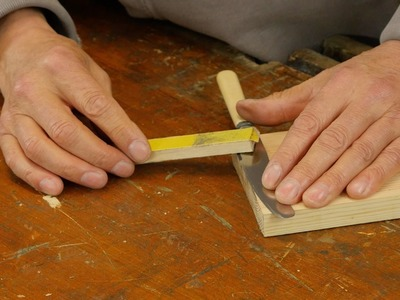 How to Sharpen a Knife with Paul Sellers