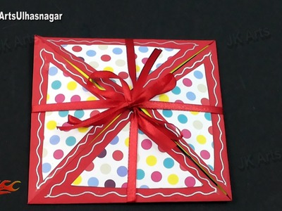 Multi-fold Scrapbook Tutorial | How to make Love Scrapbook | JK Arts 916