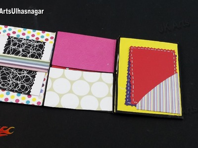 Multi-fold scrapbook Tutorial | How to make Love Scrapbook | JK Arts 915