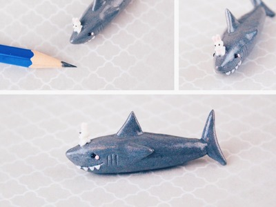 Shark & Bunny Polymer Clay Tutorial