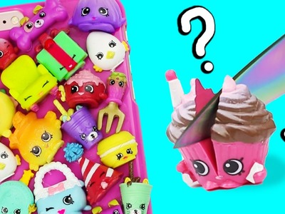 SLICE YOUR SHOPKINS!? ♥ DIY Shopkins Phone Case!