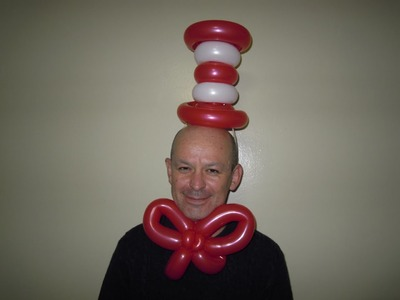 The Cat in The Hat balloon hat