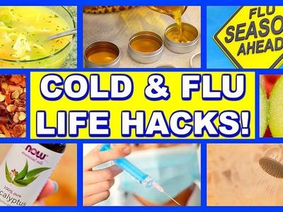 17 COLD & FLU LIFE HACKS!