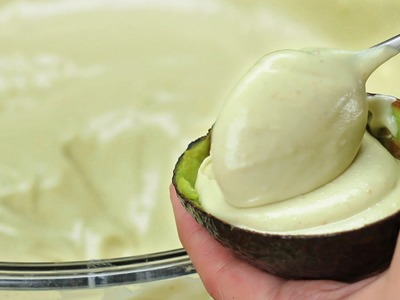 Avocado Strawberry Ice Cream