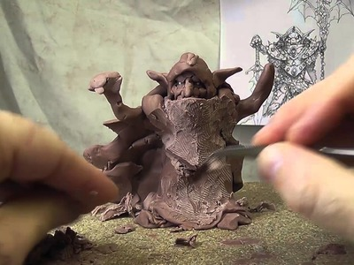 Challenge gobelins with Wayne England and Roquelaine Cyril day 3 in monster Clay plastiline