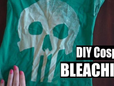 Cosplay Shirt Bleaching WIN | [RV Vlog 3]