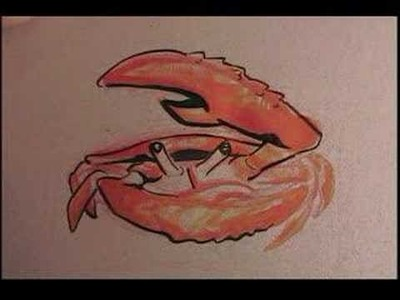 Crab Painting (sped up)