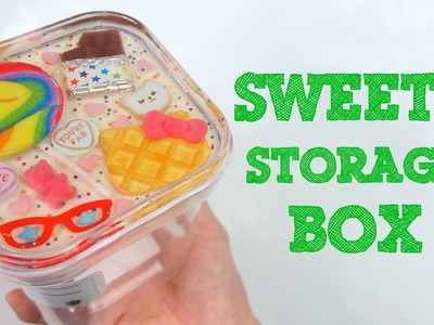 Customizing a Storage Box into a Sweets Themed Box!