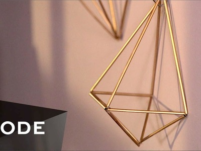 Easy Geometric Art | Glam It Yourself