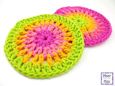 How To Crochet the Simply Cheerful Trivets.Coasters, Episode 297
