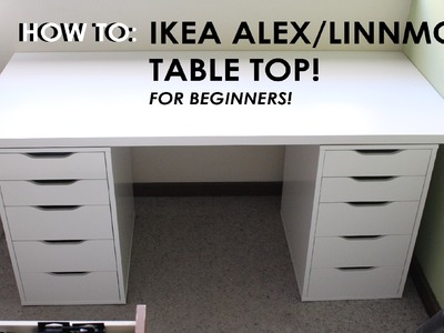 HOW TO SET UP IKEA ALEX.LINNMON DRAWERS - For Beginners! Throwback New Makeup Storage Vlog!
