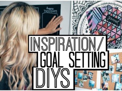Inspiration.Goal Setting DIYs & Decor!