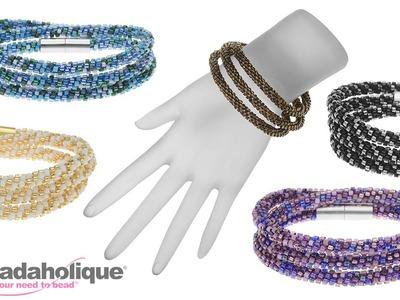 Instructions for Making the Beaded Kumihimo Wrap Bracelet Kit