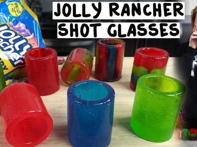 Jolly Rancher Shot Glasses - Tipsy Bartender