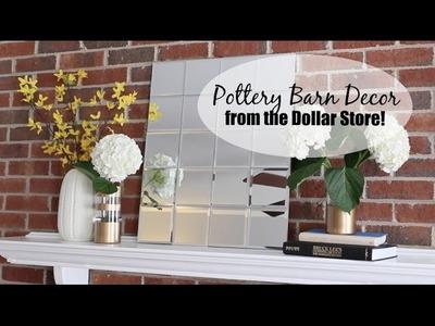 Pottery Barn Dupes from Dollar Tree!