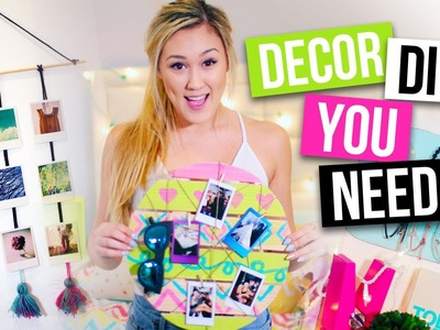 Room Decor DIYs & Organization Ideas You NEED! | LaurDIY