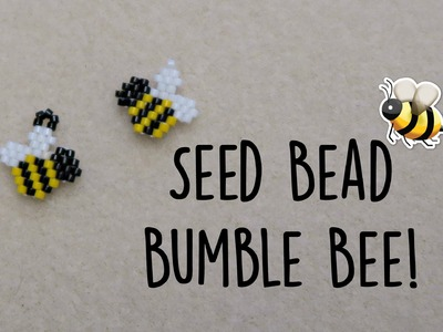 Seed Bead Bumble Bee Brick Stitch. Bead Weaving. ¦ The Corner of Craft