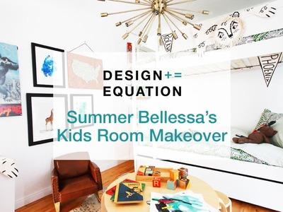 Summer Bellessa's Kids Room Makeover