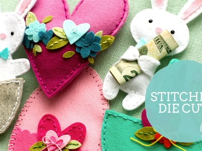 Tips for Stitching Felt Die Cuts