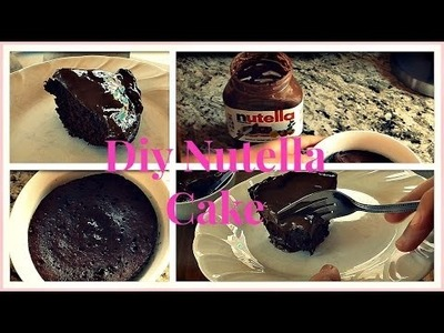 DIY: 5 Minute Nutella Cake