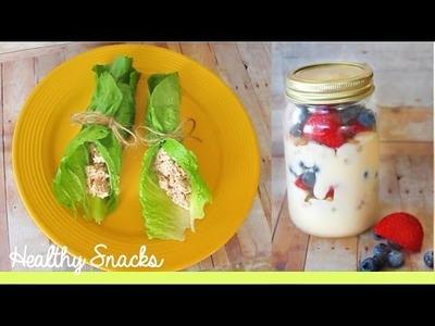DIY After School Healthy Snacks!
