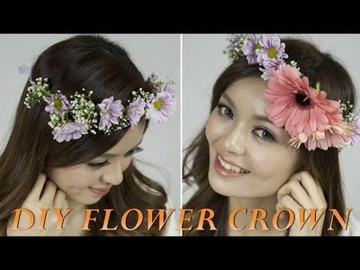 DIY Flower Crown 2015