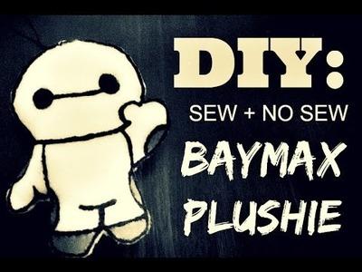 [VLOG 71] DIY- Sew + No Sew Baymax Plushie